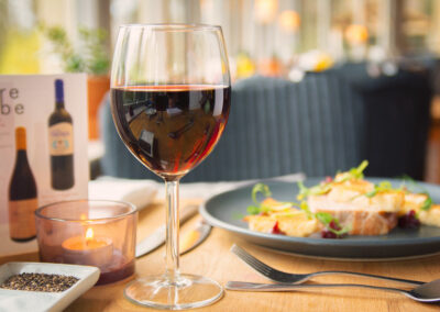50% off wine when you dine on a Tuesday